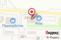 Схема проезда до компании ИнТур в Таганьково