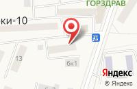 Схема проезда до компании Автосервис в Таганьково