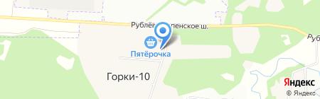 Диана на карте Горок-10