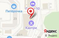 Схема проезда до компании Империя Уюта в Таганьково