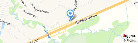 Подмосковье на карте Апрелевки
