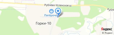 Президент-Сервис на карте Горок-10