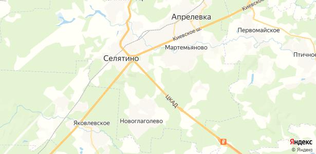 Свитино на карте