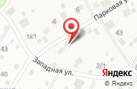 Схема проезда до компании Эра в Краснознаменске