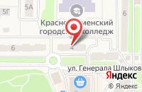 Схема проезда до компании Ключевое Решение в Краснознаменске