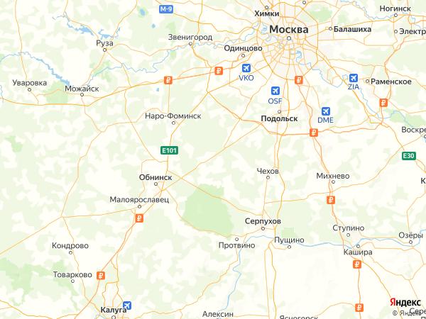 садовое товарищество Богородское-3 на карте