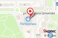 Схема проезда до компании Салон штор в Краснознаменске