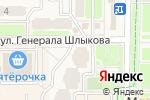 Схема проезда до компании Велес в Краснознаменске