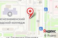Схема проезда до компании Агат в Краснознаменске