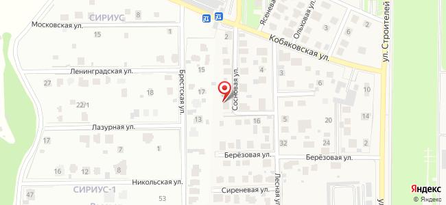 Краснознаменск (Краснознаменск ЗАТО, Московскаяобл.), Сосновая, 8