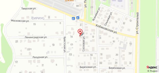 Краснознаменск (Краснознаменск ЗАТО, Московскаяобл.), Сосновая, 6