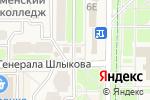 Схема проезда до компании Столото в Краснознаменске
