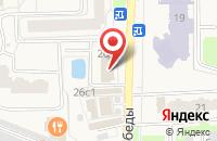 Схема проезда до компании Краснознаменское Информационное Агентство Московской Области в Краснознаменске