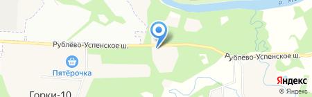 Успенское отделение полиции на карте Горок-10