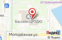 Схема проезда до компании Жемчужина в Краснознаменске