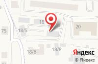 Схема проезда до компании Анахата в Краснознаменске