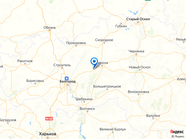 село Алексеевка на карте
