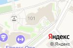 Схема проезда до компании Protabletennis в Чесноково