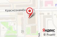 Схема проезда до компании СуперОкна в Краснознаменске