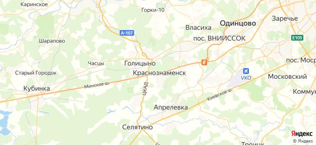 35 автобус в Краснознаменске