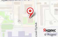 Схема проезда до компании КРАСТЕЛЕКОМ в Краснознаменске
