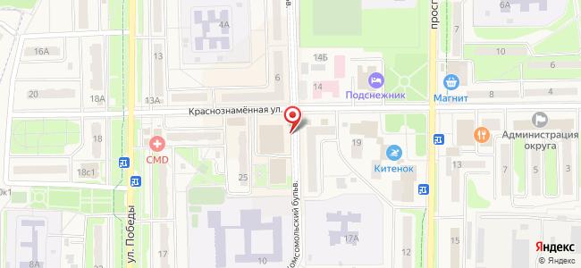 Комсомольский бульвар