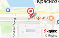 Схема проезда до компании Art Style в Краснознаменске