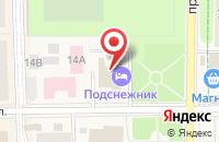 Схема проезда до компании РЕСО-Гарантия в Краснознаменске
