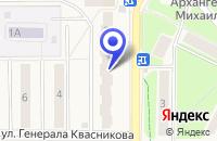 Схема проезда до компании СТРОИТЕЛЬНАЯ ФИРМА ЭКСПОСТРОЙ в Краснознаменске