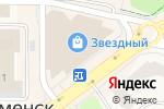 Схема проезда до компании Красно золото в Краснознаменске