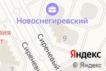 Схема проезда до компании Платежный терминал, Московский кредитный банк, ПАО в Рождествене