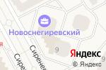 Схема проезда до компании Шурик в Рождествене
