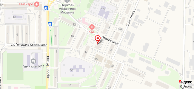Краснознаменск (Краснознаменск ЗАТО, Московскаяобл.), Парковая, 4
