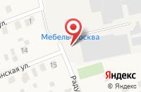 Схема проезда до компании Мебель-Москва в Поварово