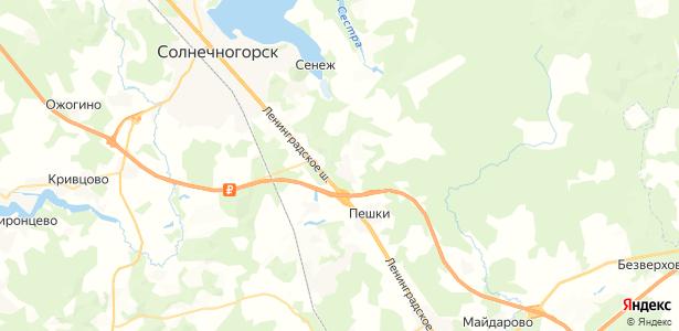 санатория Министерства Обороны на карте