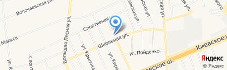 Апрелевская средняя общеобразовательная школа №4 на карте Апрелевки