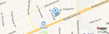 Продовольственный магазин на карте Апрелевки