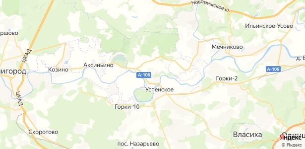 Сосны на карте