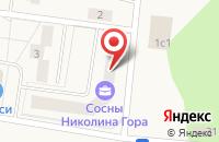 Схема проезда до компании JOY в Соснах
