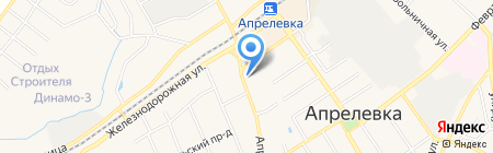 1xbet на карте Апрелевки