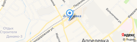Магазин одежды на карте Апрелевки