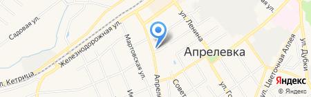 АЛЮМДЕКОР на карте Апрелевки