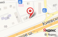 Схема проезда до компании Гвоздика в Апрелевке