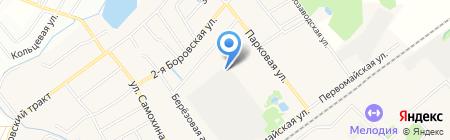 Апрелевский завод теплоизделий на карте Апрелевки