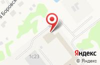 Схема проезда до компании Апрелевский завод теплоизделий в Апрелевке