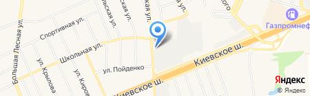 Банк Возрождение на карте Апрелевки
