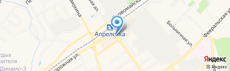 Мобил Элемент на карте Апрелевки