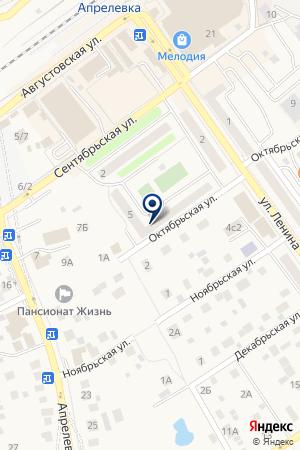 ПАРИКМАХЕРСКАЯ ОДИНОКОВ А.Н. на карте Наро-Фоминска