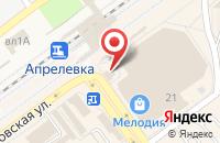 Схема проезда до компании Бюро швейных услуг в Апрелевке