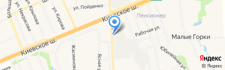 ТЕХ-ПЛАСТ на карте Апрелевки